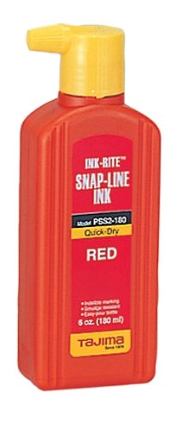 Tajima PSS2-180 INK-RITE Quick Dry Red Ink