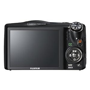 """FUJIFILM Digital Camera FinePix F800EXR (Black) 16MP EXR-CMOS Wide angle24mmOptical Zoom20""""{ F FX-F800EXR B - International Version"""