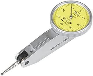 Mahr Federal 4305200 800 S MarTest Standard Version Test Indicator, 0.01 mm x ± 0.4 mm, 1.1