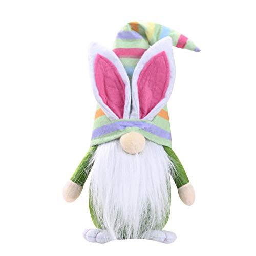 Y-POWER - Conejo de Pascua Gnomo Tomte Sueco Elfo Muñeca sin rostro Casa Casa Casa Casa Casa Casa Decoración Cocina