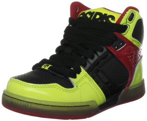 Osiris NYC 83, Herren Sneaker Mehrfarbig Yellow Black Red