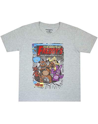 FIVE NIGHTS AT FREDDY'S Pizza Boy's T-Shirt (11-12 Years)