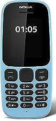 Nokia 105 (Dual SIM, Blue)