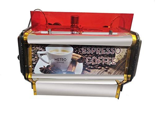 KIING Espresso Coffee Machine 14 inch Capacity 3 Liter 150 Cups at a time for Shops & Banquet Halls