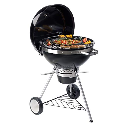Tepro San Francisco Charcoal BBQ Kettle Grill compatible with 57cm Grid-in-Grid System