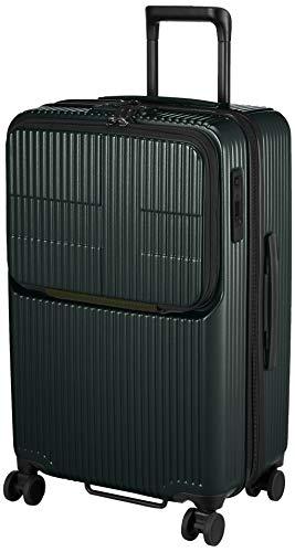 [イノベーター] スーツケース グッドサイズ スリムトップオープン 多機能モデル INV60 保証付 62L 65 cm 4kg オリーブドラブ