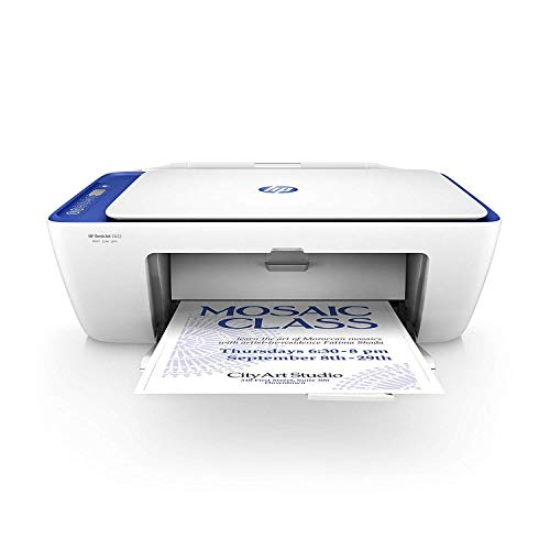 HP DeskJet 2622 All-in-One Compact Printer, Works with Alexa - White (V1N07A)