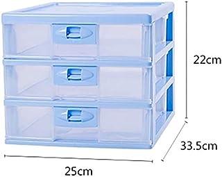 WHLONG Fichier Transparent Armoires de Stockage de Documents Cabinet de Bureau Extension tiroir verrouillable Bureau Organ...