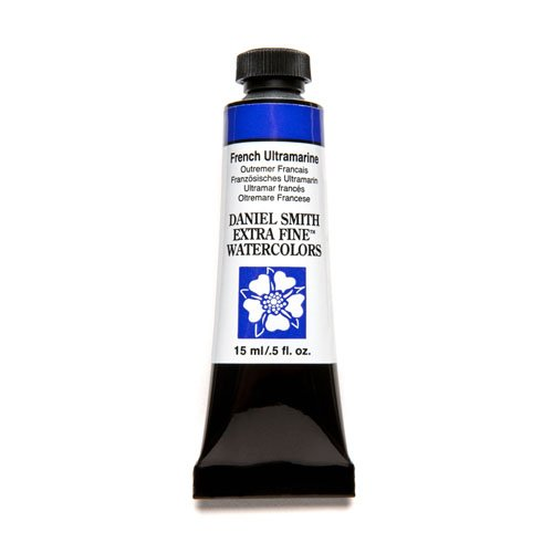 DANIEL SMITH Extra Fine Watercolor 15ml Paint Tube, French Ultramarine