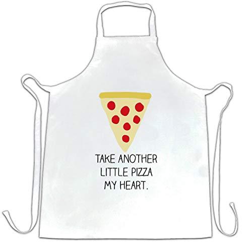 Prenez un autre petit Pizza My Heart maintenant bébé Saint-Valentin Tablier