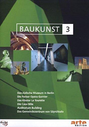 Baukunst, Vol. 03: Libeskind, Garnier, Le Corbusier, Gaudi, Sullivan & Adler, Aalto (NTSC)