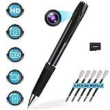 Mini Hidden Camera Spy 1080p HD Spy Camera Pen 2.5 Hours Video