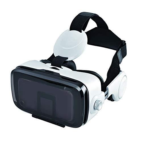 Realidad Virtual Gafas 3D VR Casco Caja Controlador Bluetooth 120 ° FOV Auriculares Estéreo con Gamepad para 4.0-6.0 Pulgadas Smartphone
