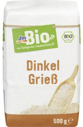 dmBio Dinkelgrieß, 500 g (1er Pack)