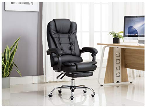 Kepler Italia High Back Reclining Leatherette Office Desk Chair