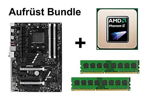 Aufrüst Bundle - MSI 970A SLI Krait + Phenom II X3 720 + 16GB RAM #69864