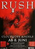 Rush - Clockwork Angels, Tour 2012 » Konzertplakat/Premium