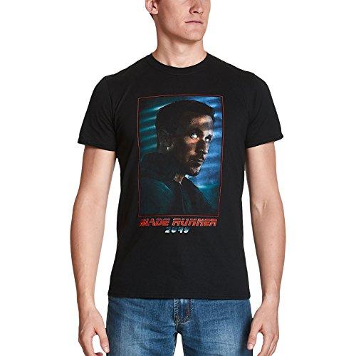 Blade Runner para Hombre de la Camiseta Oficial de Agente K para la película de 2049 de algodón Negro - XXL