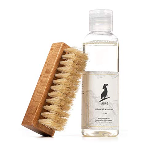 GOLD STANDARD Premium Shoe Cleaner Kit Brush and Solution - Sneaker Cleaner Kit Leather, Suede, Canvas, White Sneakers and More