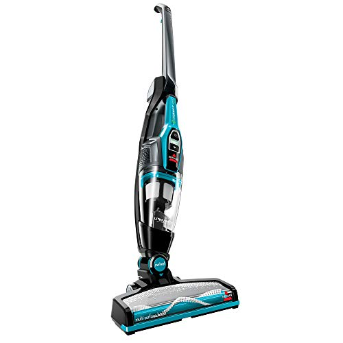 BISSELL Adapt Ion Pet 10.8V Lithium Ion 2 in 1 Cordless Stick Vacuum, Teal, 2286A (Renewed)