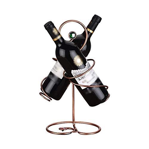 XUSHEN-HU Estante de la Botella del Estante Resistente y Duradero de Soldadura for peritos del Vino 23 × 15 × 31cm Hogar