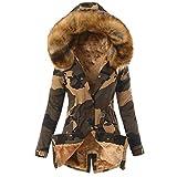 MASZONE Winter Coat for Women,Womens Warm Long Coat Fur...