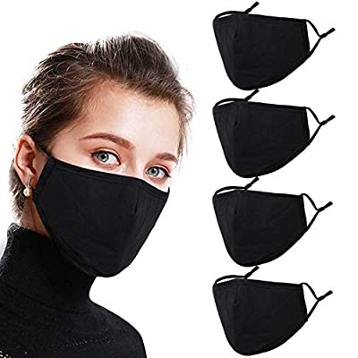Alldriey Breathable Washable Reusable Face Mask with Adjustable Earloops, Fashion Design Madks Mouth Nose Cover for Women Men