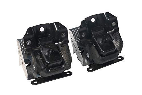Engine Mount Set of 2 with Heat Shield - Compatible with Chevy, Cadillac & GMC Vehicles - 07-14 Escalade, Silverado, Suburban, Tahoe, Sierra, Yukon - Replaces 15854941, A5365 - Left and Right Mounts