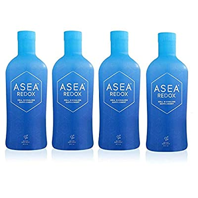 ASEA REDOX Cell Signaling Supplement (4 X 32 oz. Bottles)