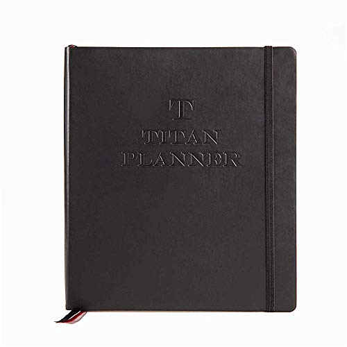 Titan Planner � The first Productivity Planner 2020, based on the scientific concept of Backward Planning � Plan Your Life Backward To Get More Done � Undated � 6 Months Recycled Materials
