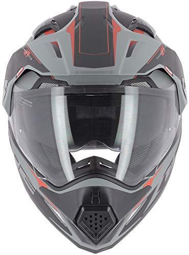 Astone Helmets tourer-advbrl Kopfhörer Tourer Adventure, Grau/Schwarz, L - 9