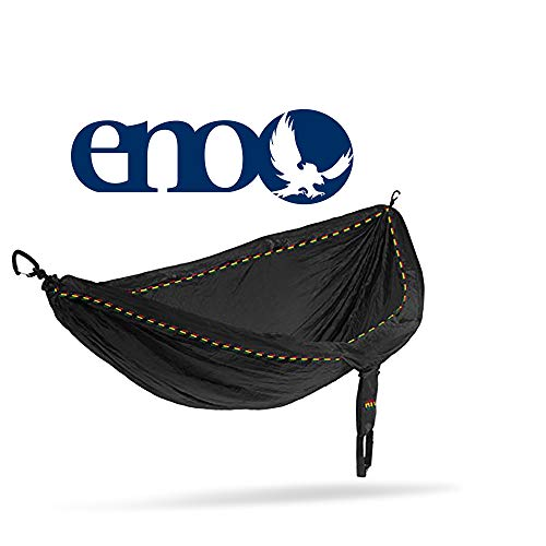 Eagles Nest Outfitters Doublenest Hammock, Rasta Limited Edition