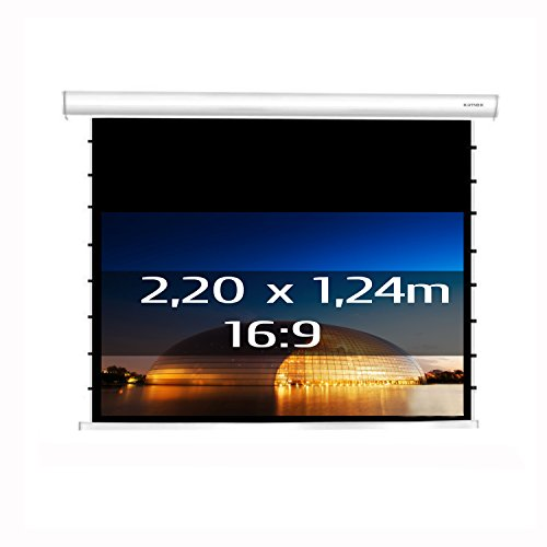 projection Screen Tab-Tensioned Electric Moterised RF 1.24 x 2.20 m