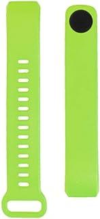 شريط ساعة سيليكون من لايجر متوافق مع هواوي توكباند بي 2 لون أخضر