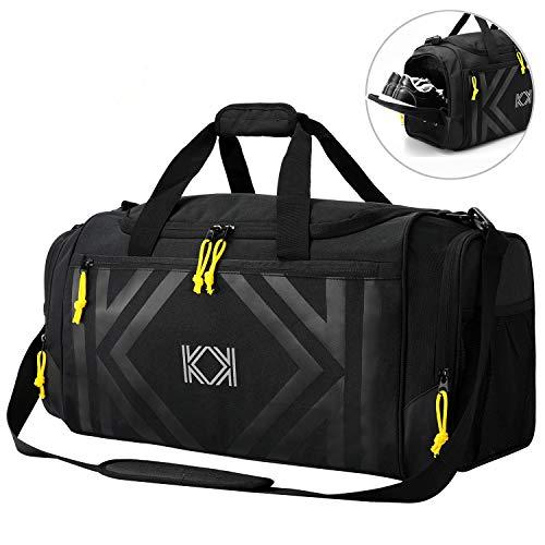 KK Water Resist Sports Gym Bag w...