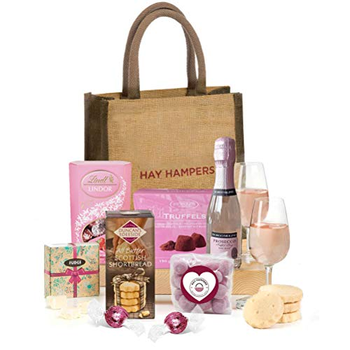 Hay Hampers -Prosecco Made Me Do It! - Chocolate Hamper For Women in Gift Hand Bag