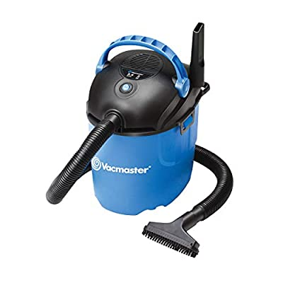 Vacmaster, VP205, 2.5 Gallon 2 Peak HP Portable Wet/Dry Shop Vacuum, Blue