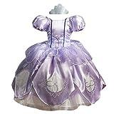 Sofia Dress - Princess Dress Up Pretend Play Toys, Halloween Costume