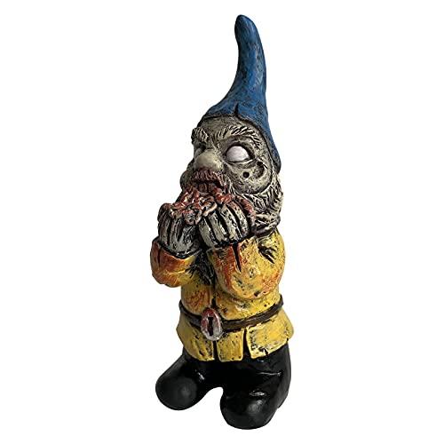 Tlymopukt Gnomes Garden Sculpture Decorations,Zombie Gnome Creepy Spooky Undead Figurines Garden...