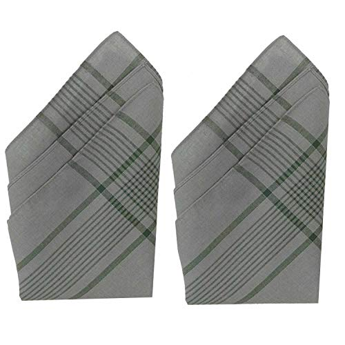 Unbekannt Bundeswehr Stoff-Taschentuch aus 100% Baumwolle 50 x 50 cm 6er Pack Herrentaschentuch Herren Taschentuch BW