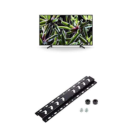 Sony KD-65XG7005 Bravia 65 Zoll (164cm) Fernseher (Ultra HD, 4K HDR, Smart TV, USB HDD Recording) schwarz + Wandhalterung für Bravia TVs (2019, 2018, 2017, 2016, 2015)