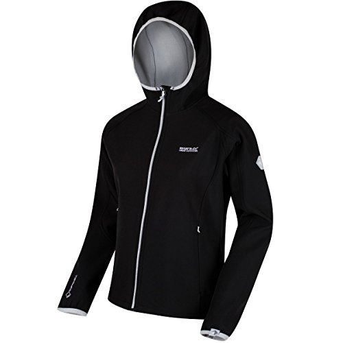 Regatta Damen arec II Soft Shell L Black/Light Steel