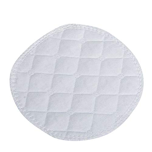 Fornateu 10pcs Tres Capas de algodón Lavables ecológicos de Lactancia Pads Transpirables Discos absorbentes Reutilizables Impermeables