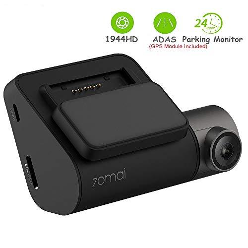 70mai Dash Cam Smart Dash Cam mit integriertem WiFi, Sprachsteuerung, Notfallaufnahme, APP Control Dashboard 24H Parkmonitor 140FOV (70mai pro)