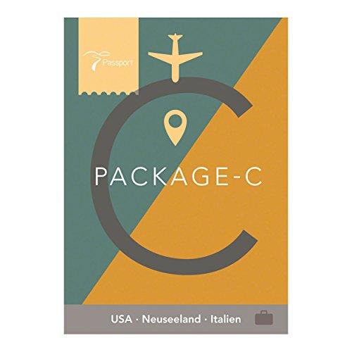 Horizon Passport Virtual Active - USB Stick, Pack C (USA, Neuseeland, Italien)