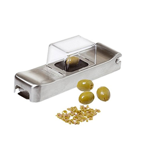 Alligator 1092. Mini Stainless Steel Chopper. Cuts and dices garlic, olives, chili