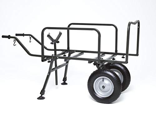 Angelspezi 2 Rad Trolley Deluxe XXL Transportwagen Transportkarre Barrow Angeln