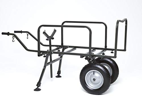 Angelspezi 2 Rad Trolley Deluxe XXL Transportwagen Transportkarre Barrow Angeln