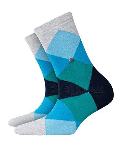 Burlington Damen Socken Bonnie, Baumwollmischung, 1 Paar, Grau, 36-41