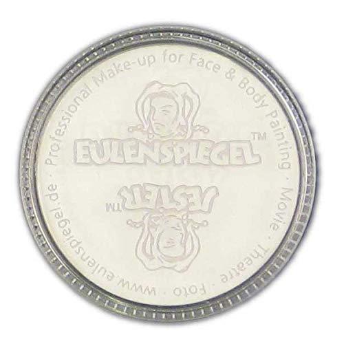 Eulenspiegel 501009 – Crema trucco bianco, 35 ml